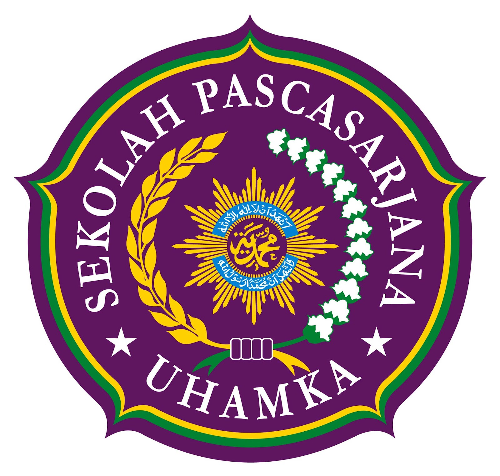 ghaniya publisher: Logo Sekolah Pascasarjana UHAMKA
