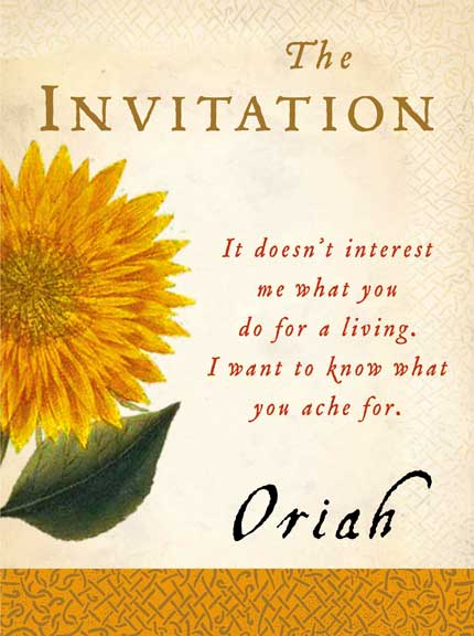 The Invitation Oriah Mountain Dreamer Pdf was Cool Layout To Make Best Invitation Design
