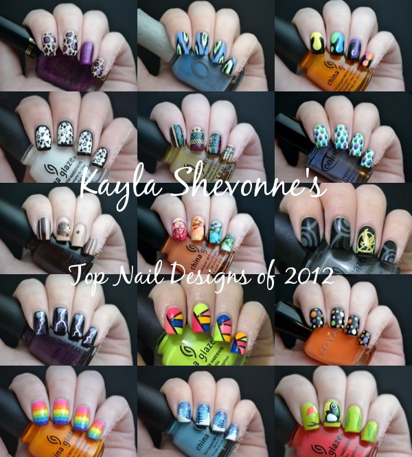 Nails By Kayla Shevonne Top 10 Nail Art Designs Of 2012