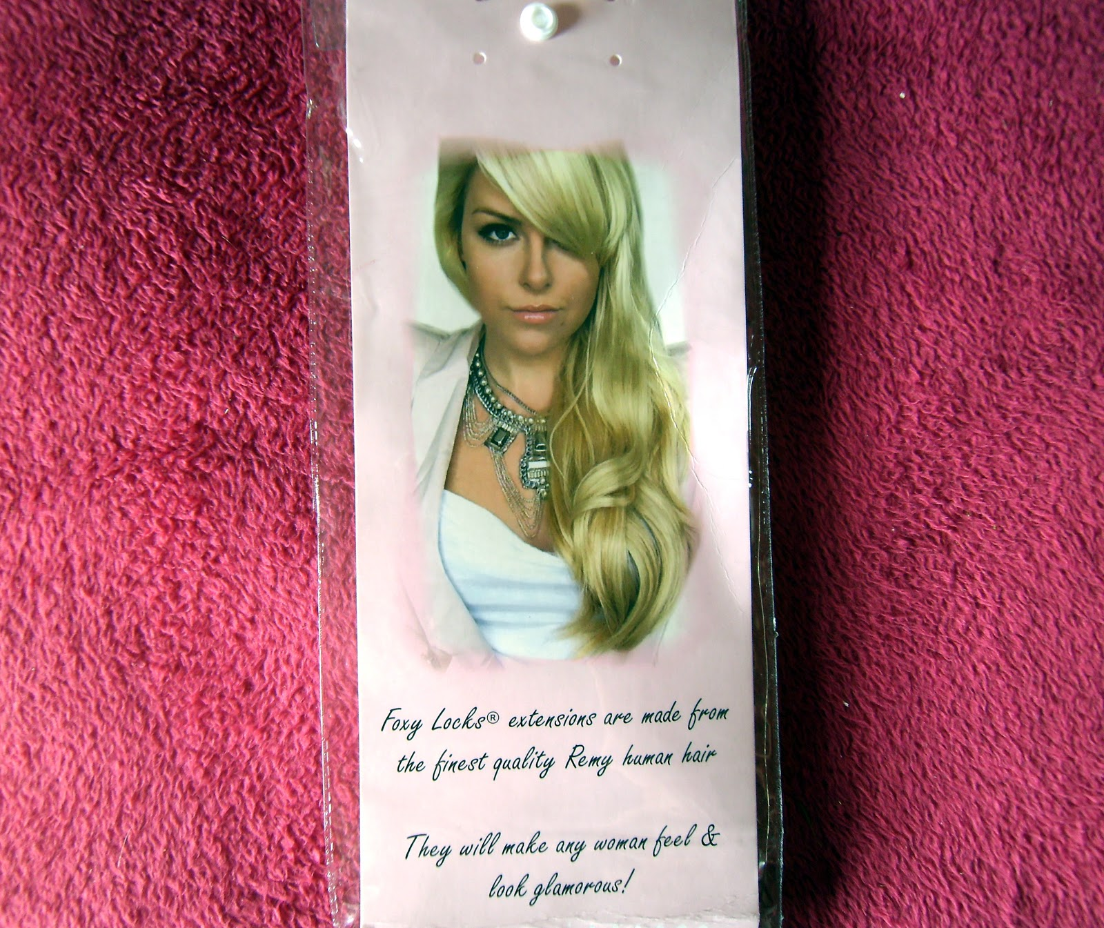 Pretty Little Obsessions Uk Beauty Blog Foxy Locks Hair Extensions