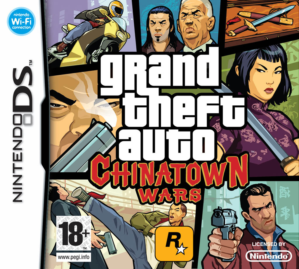 Grand Theft Auto Chinatown Wars DS