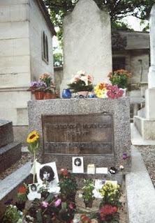 Tumba Jim Morrison - Père Lachaise