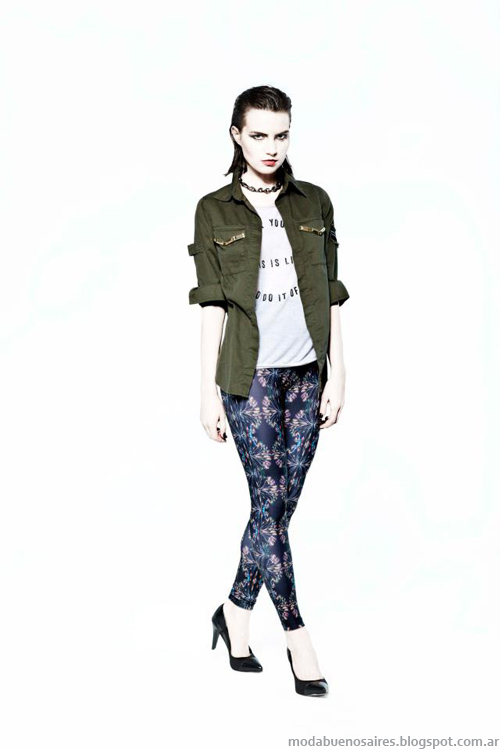 Allo Martinez leggings invierno 2013