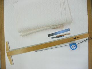 プリマのVP壁紙を切る為の道具たち