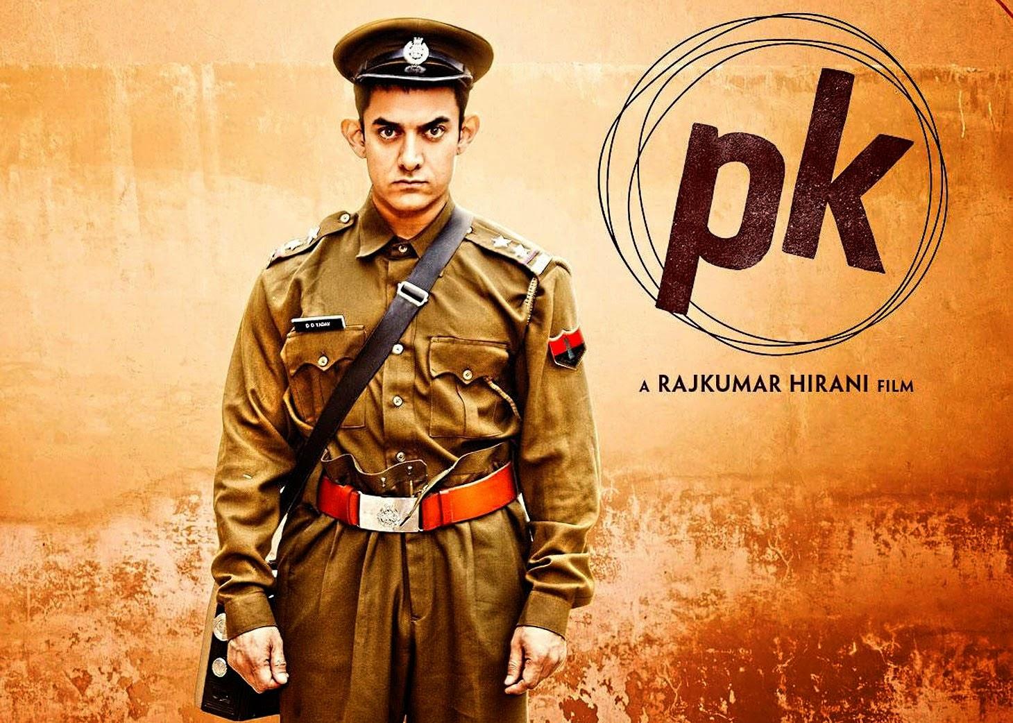 PK Aamir Khan Movie Poster