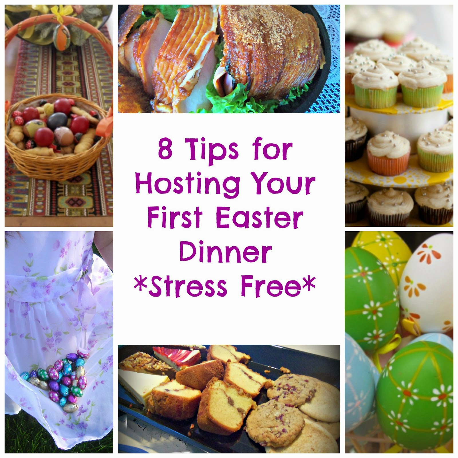 8 Tips for Hosting a Stree Free Easter Dinner
