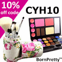 Born Pretty 10% off coupon!