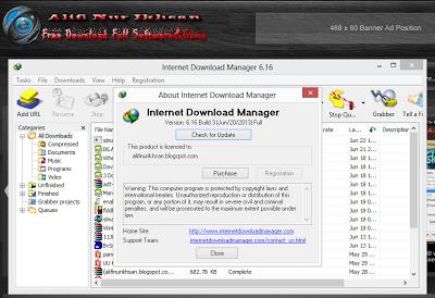 Internet Download Manager 6.16 Build 3 Cracked License