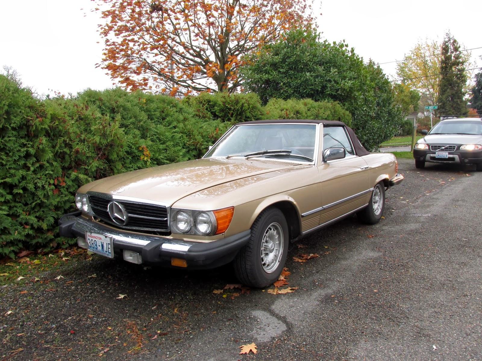 Seattle 39 s classics 1984 mercedes benz 380sl roadster for 380sl mercedes benz