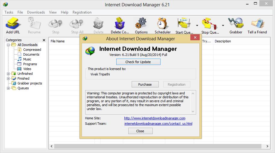 Windows 8 & 7). Note : Sebagian Antivirus menganggap Patch ini sebagai virus