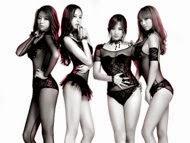 Konsep Lesbian dan Erotis, Girl Group