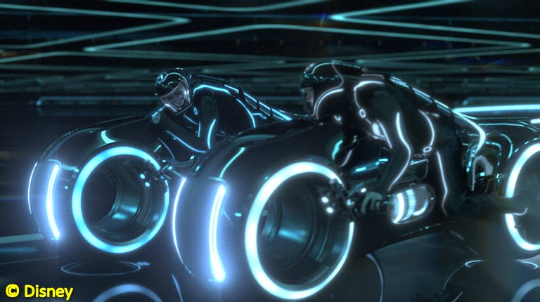 Tron: Legacy Light Cycles