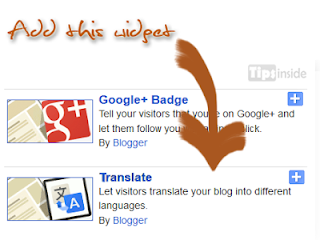 blogger translate gadget