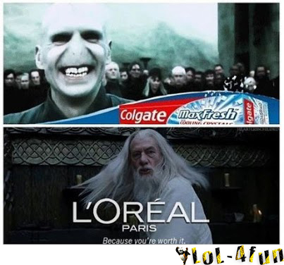 Funny Harry Potter And Lord Of The Rings