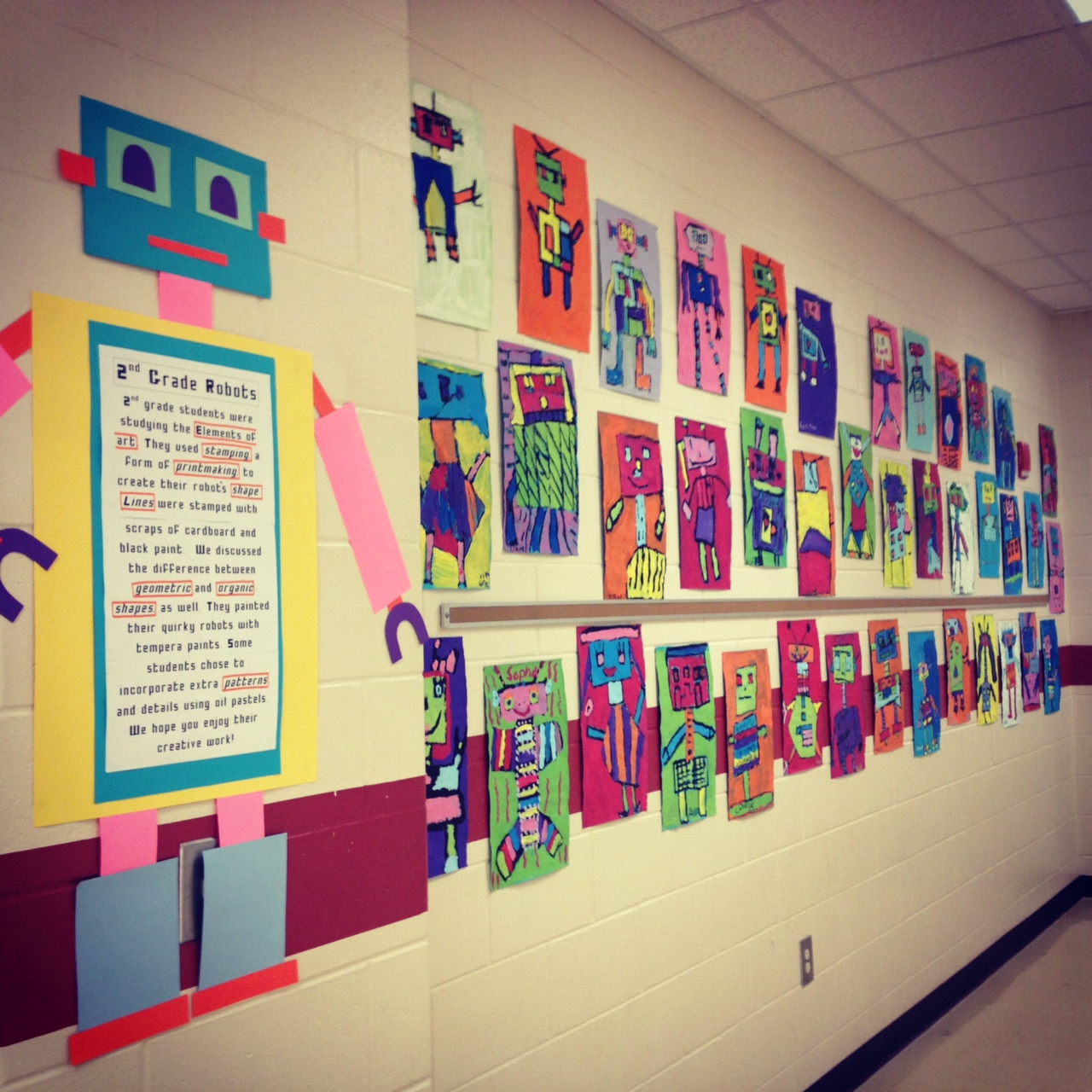 Robot Classroom Decoration Ideas ~ It s an hses arty party mr roboto