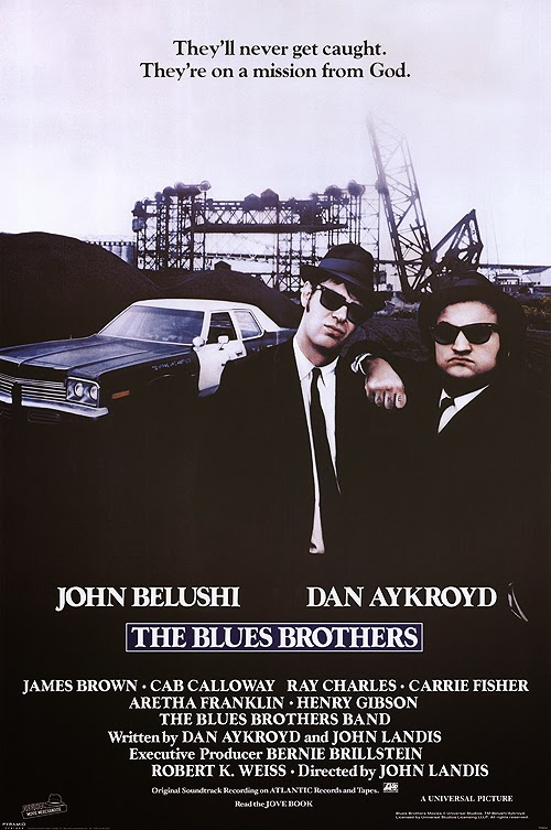 The Blues Brothers Dan Aykroyd John Belushi 1980