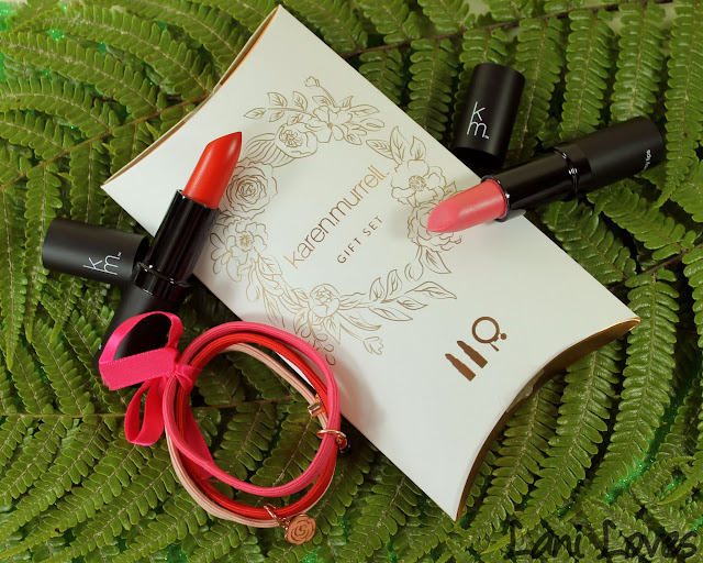 Karen Murrell Christmas Gift Set - Camellia Morning and Rymba Rhythm Swatches & Review