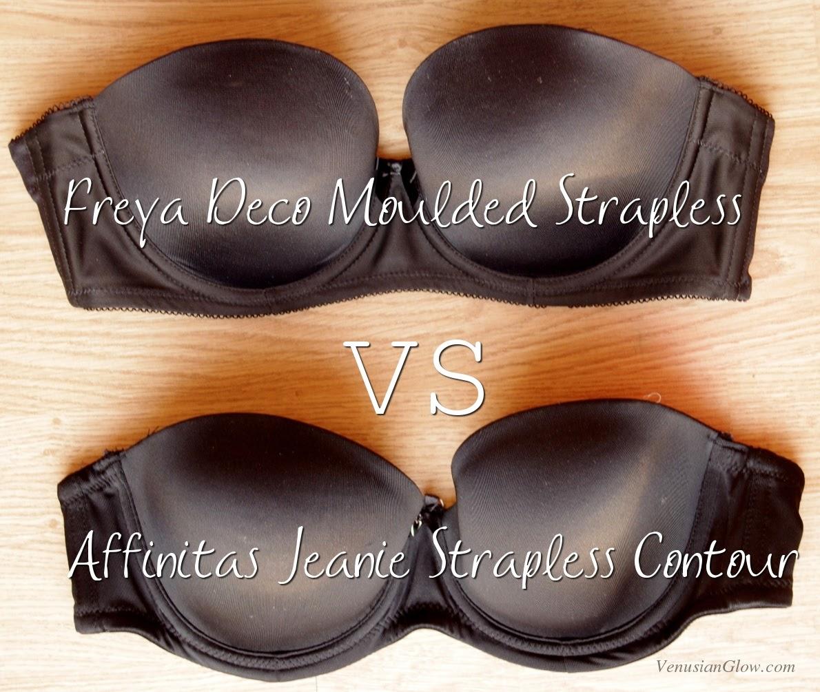 3781a8cf6e Parfait Jeanie Strapless VS Freya Deco Strapless