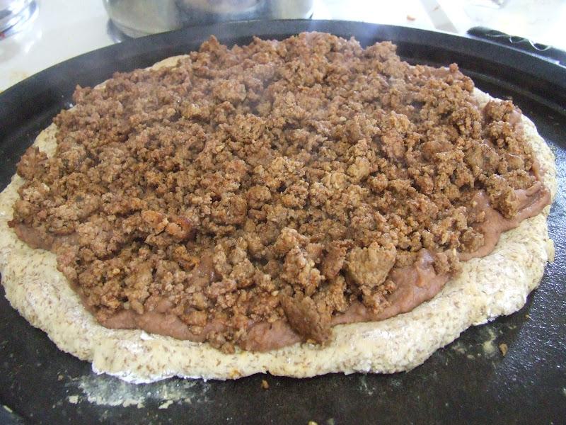 Mexican Flatbread Pizza
