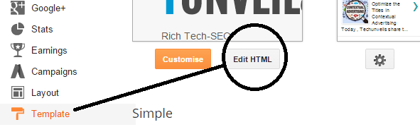 Increase The Width Of The Template In Blogger