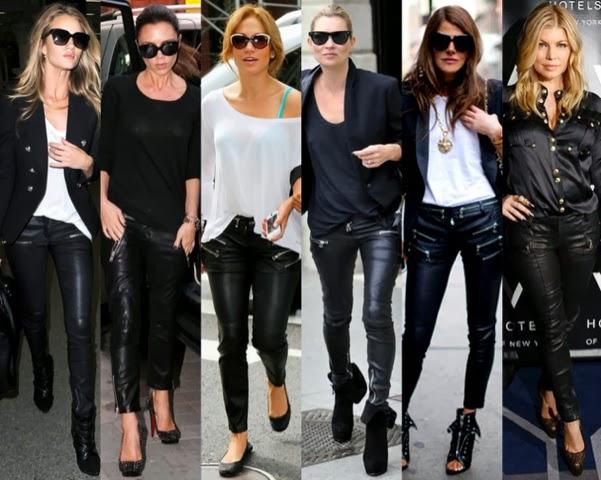 Celebrities-Balmain-Leather-Pants-imprescindibles-Pantalones-de-Piel-Otoño-Invierno2013-2014-godustyle