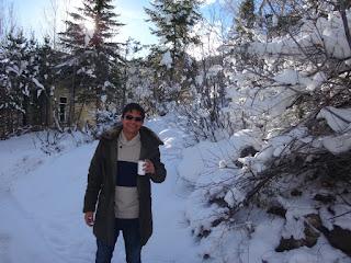 neve em aspen, colorado, eua