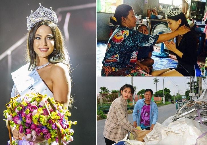 Biodata Profil Mint Kanistha Gadis Pemulung Juara Ratu Kecantikan Thailand Dan Foto Terbaru
