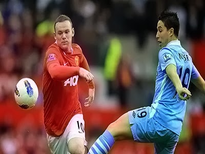 Manchester United Vs Tottenham Hotspur Goals and Highlights 01-12-2013 HD