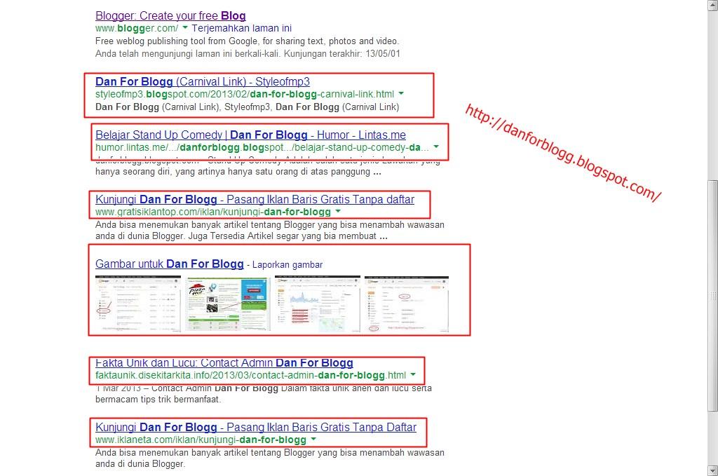 Cara Mendapatkan Sitelink Di Pencarian Google