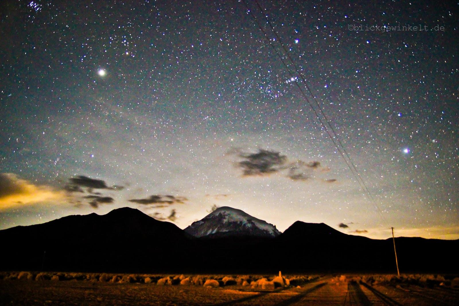 Sternenhimmel Bolivien