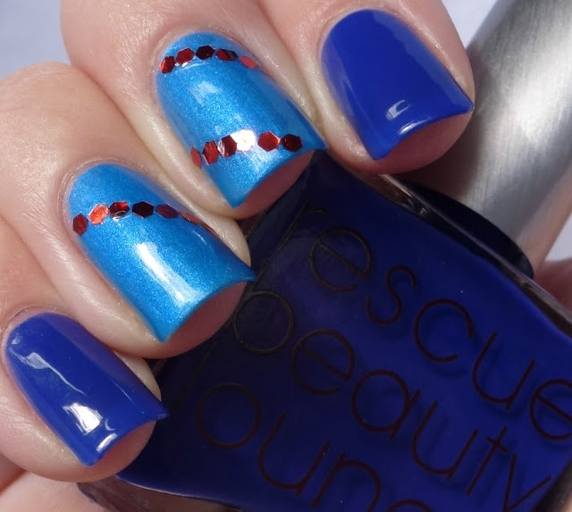Splish Splash - Chine Glaze, IKB: 2012 - Rescue Beauty Lounge, swatch