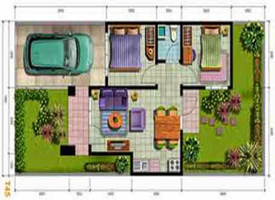 desain rumah type 45 desain properti indonesia