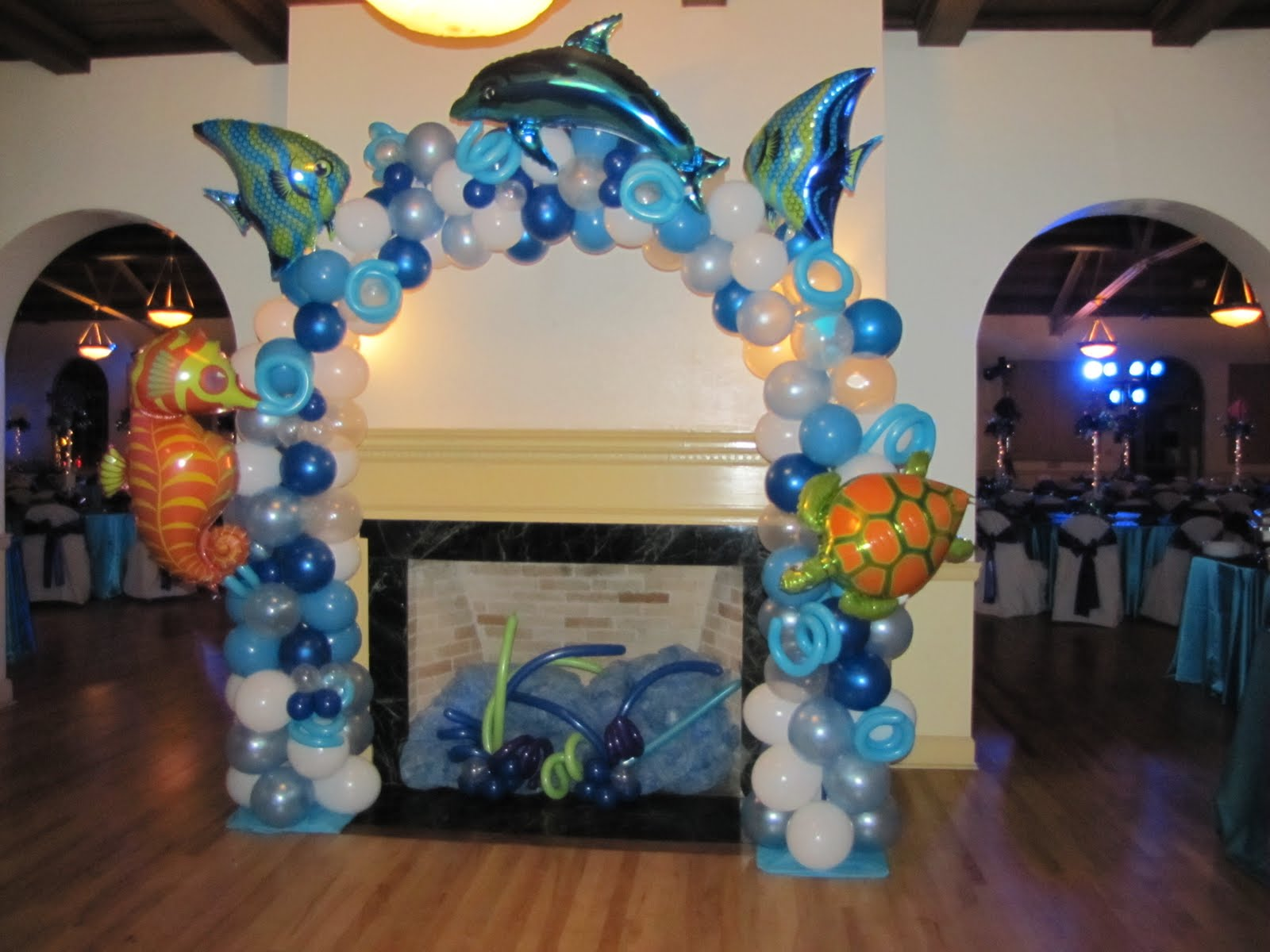 People Decorating For A Party party people event decorating company: under the sea bat mitzvah