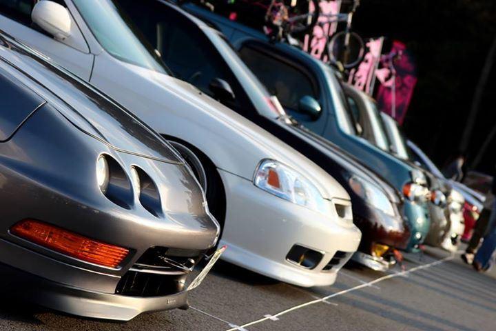 Honda Integra, Civic, zlot, pasja, tuning, modyfikacje, usportowione samochody, VTEC is kicking in, wysokoobrotowe silniki, B18, B16, zdjęcia, galeria