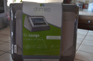Domeo Tri Lounger iPad LapDesk 1 Win ONE for you!!