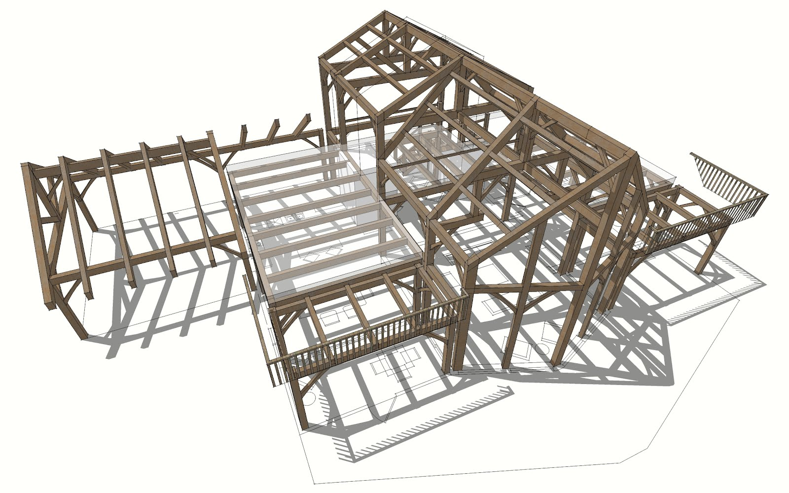 Texas timber frames for Timber frame plans for sale
