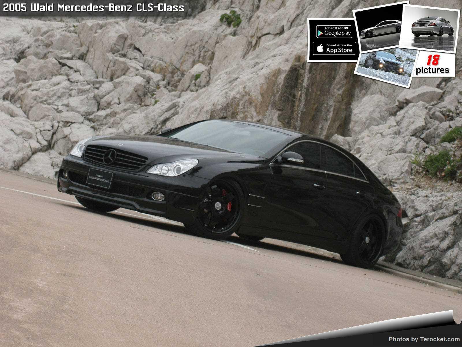 Hình ảnh xe độ Wald Mercedes-Benz CLS-Class 2005 & nội ngoại thất