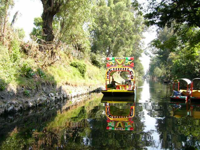 Xochimilco mexico la casita blanca for Xochimilco jardin flottant