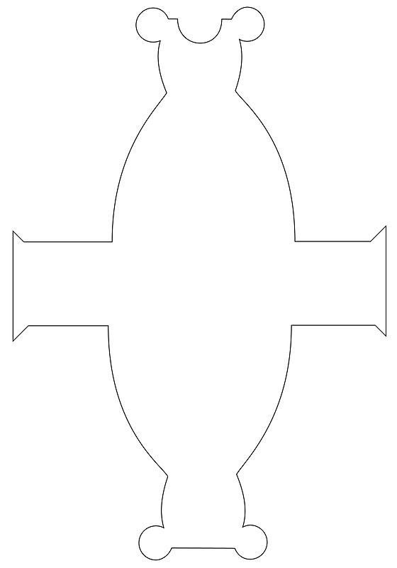 Molde de vestido de Minnie Mouse - Imagui