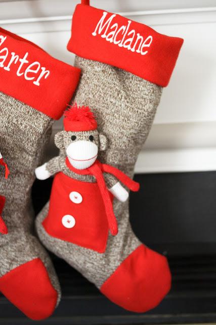 Sock Monkey Christmas Tree
