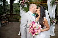 Bouquet de noiva desconstruído