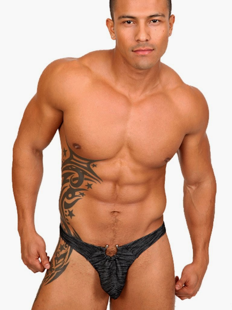 Pistol Pete Maverick Thong String Underwear Model