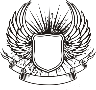 Wings Monochrome Shields 17464156 also Heraldic Cross Swords With Laurel Wreath Vector Clip Art 411780 further Gremio Chapa2 blogspot also 387 also 516014069783405891. on coat of arms shield shapes with wings