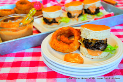 Espresso Chili Burger Slider