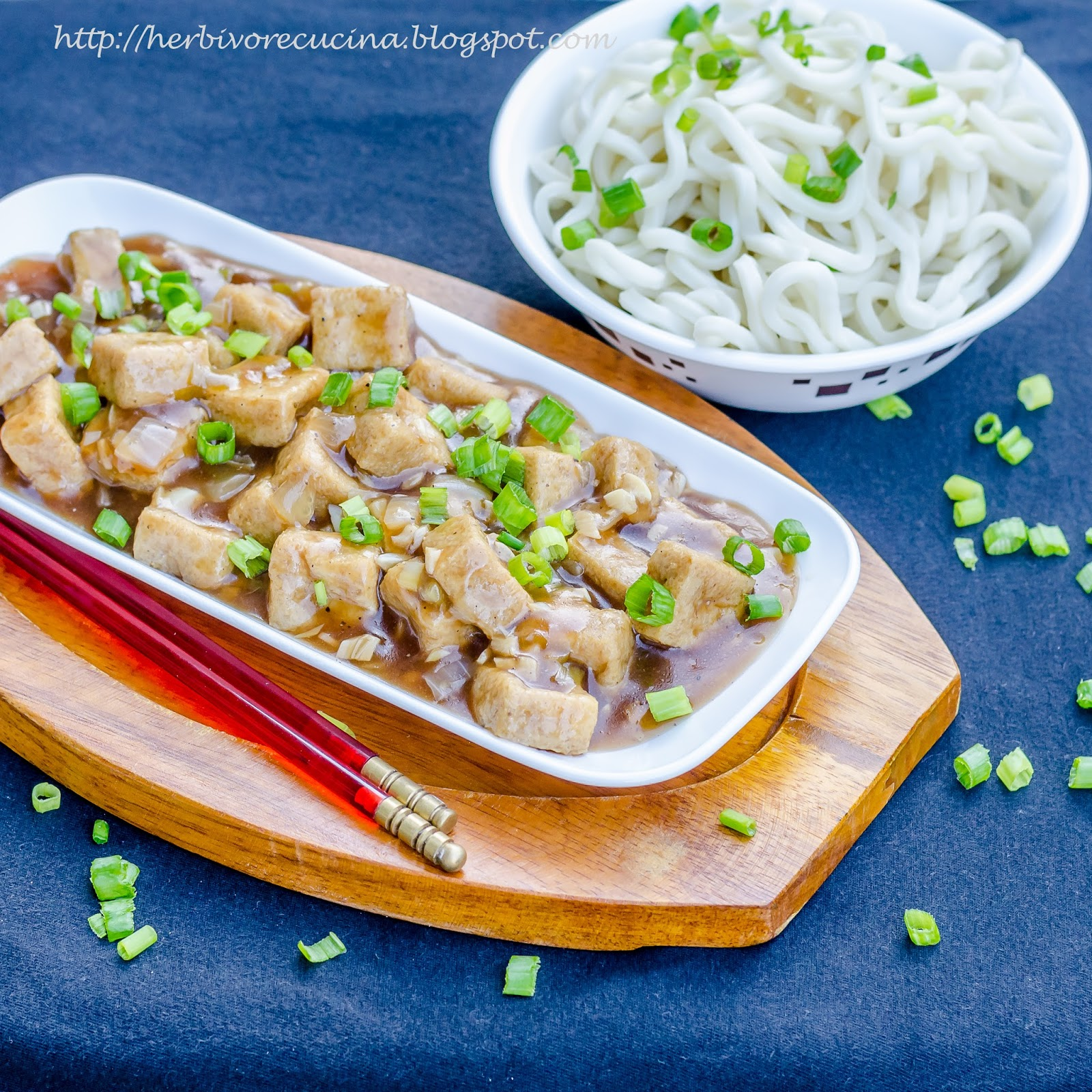 Herbivore cucina tofu puffs in manchurian sauce for many other indo chinese recipes click here forumfinder Choice Image