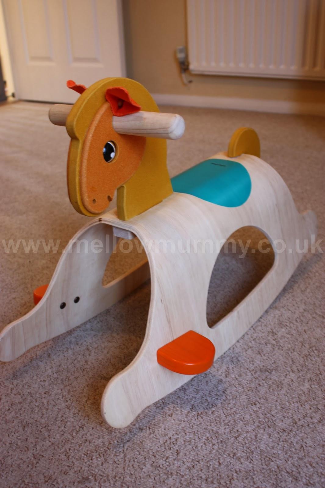 Plan Toys Wooden Rocking Horse