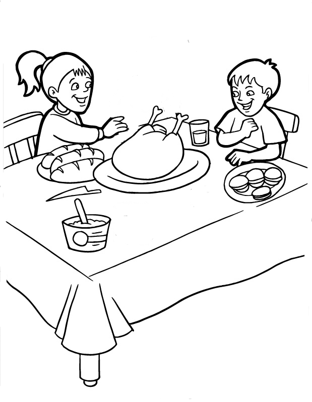 disney thanksgiving coloring pages - photo#26
