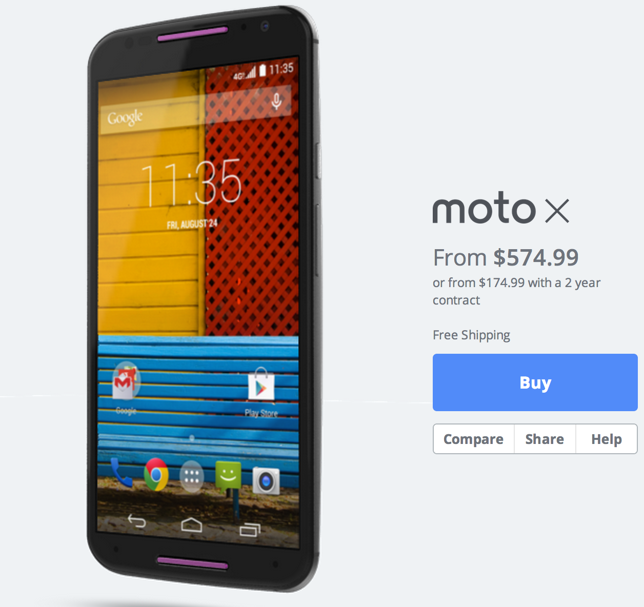 First Impression: Moto X 2nd Gen