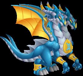 imagen del dragon zodiaco geminis de dragon city