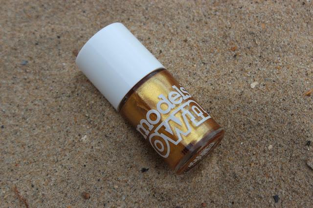 model own gold rush nail polish